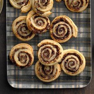 Mushroom Pastry Pinwheels