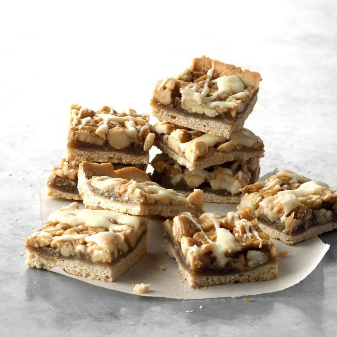 Orange Cashew Bars