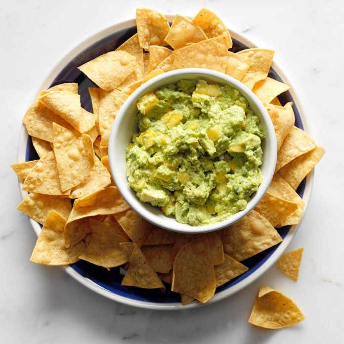 Virginia: Peachy Jalapeno Guacamole