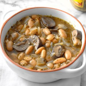 Pesto Bean Soup