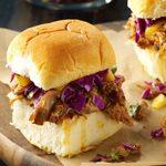 Pressure-Cooker Caribbean Chipotle Pork Sliders