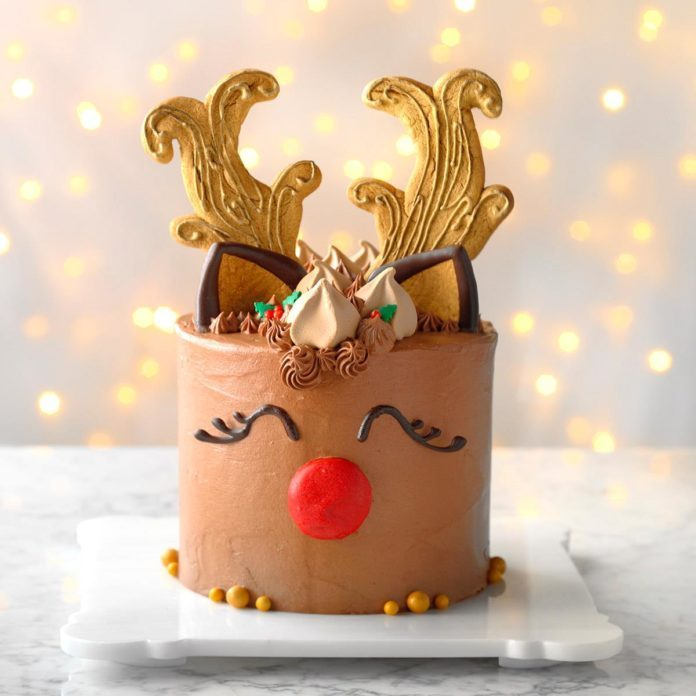 Day 18: Reindeer Cake