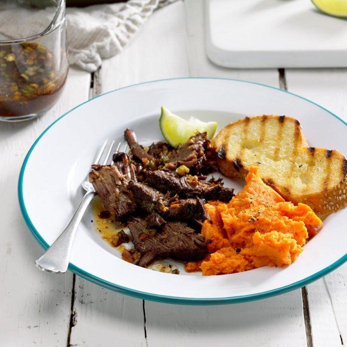 Roast Beef Caribbean Style