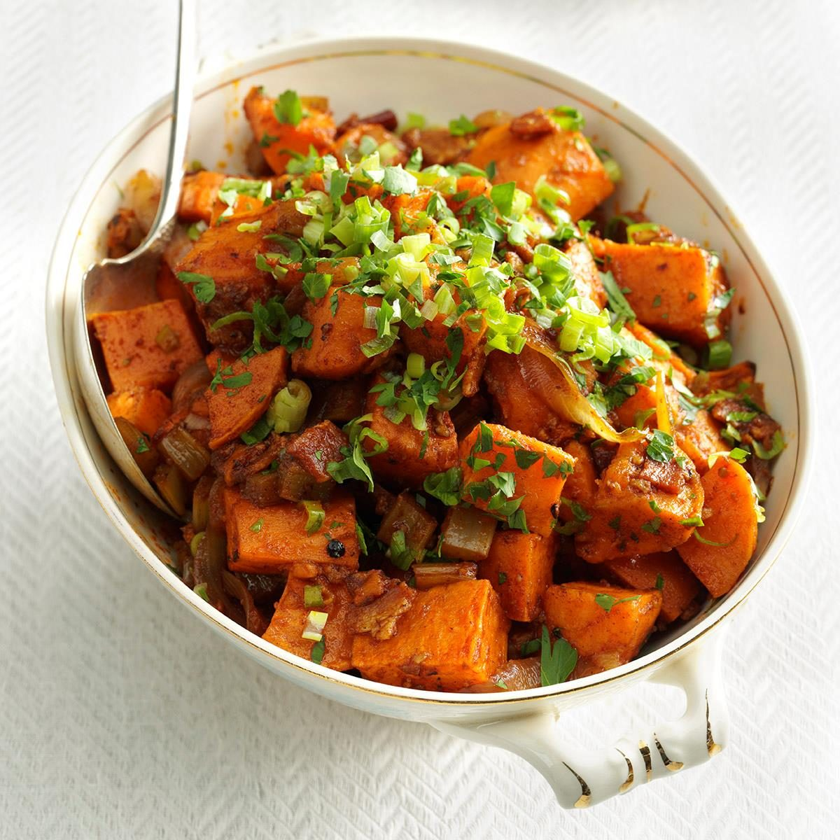 Roasted Balsamic Sweet Potatoes Recipe