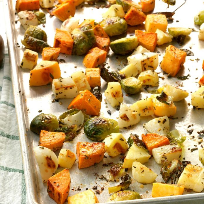 Rosemary Root Vegetables