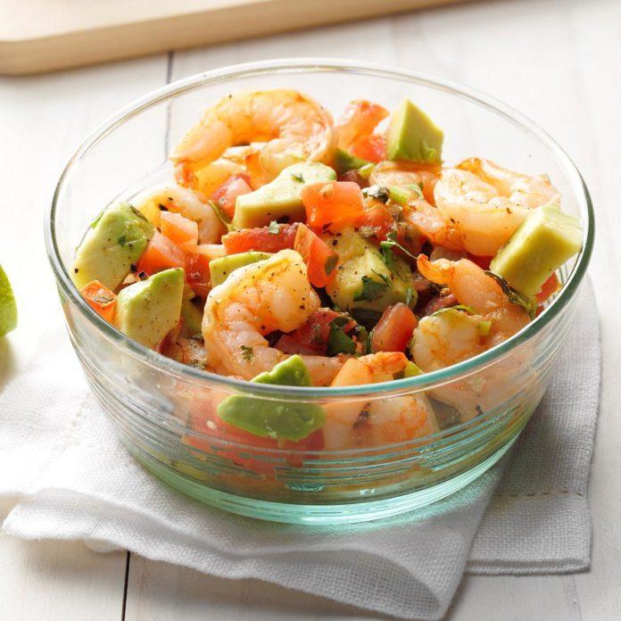 July 20: Shrimp and Avocado Salad