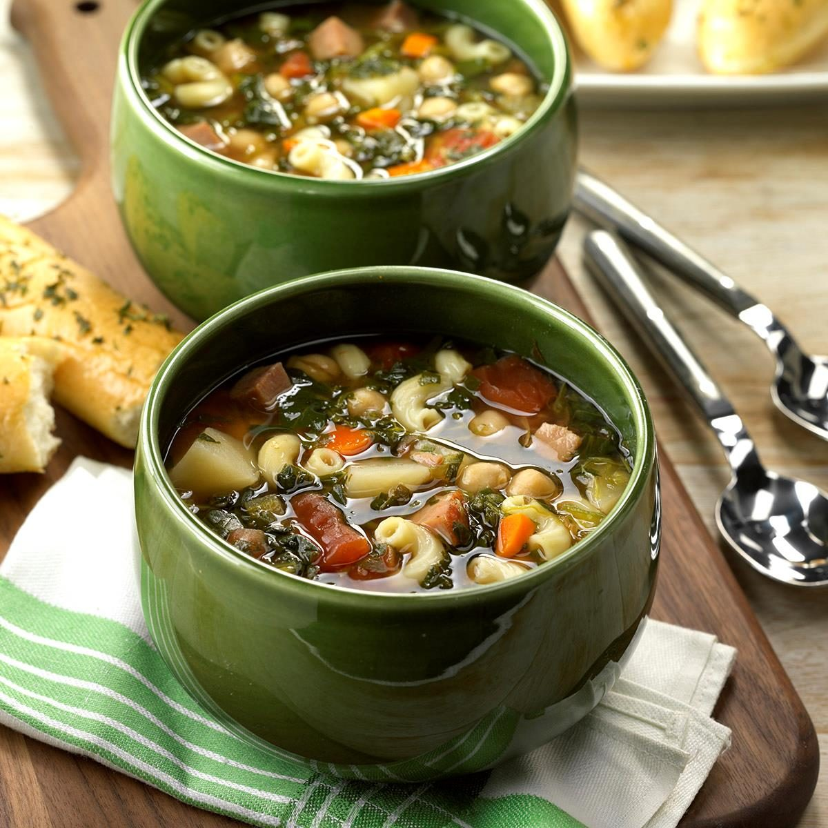 Slow-Cooked Minestrone Soup Recipe