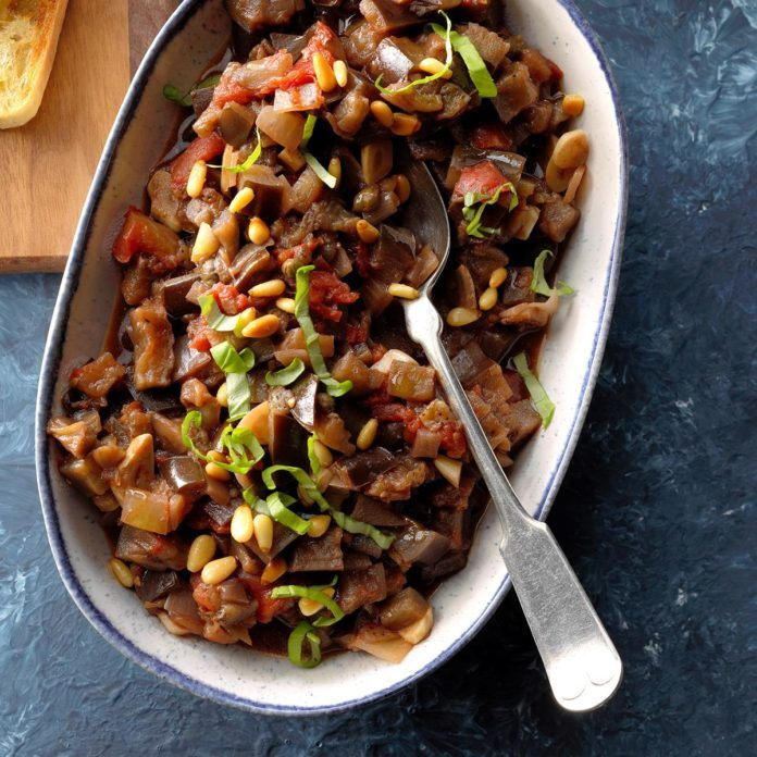 Slow-Cooker Caponata