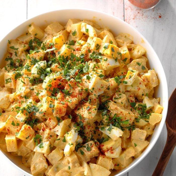 Spicy Cajun Potato Salad