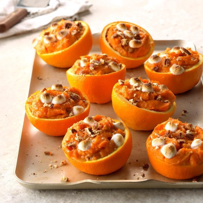 Sweet Potato Orange Cups