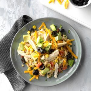 Tex-Mex Chicken and Rice