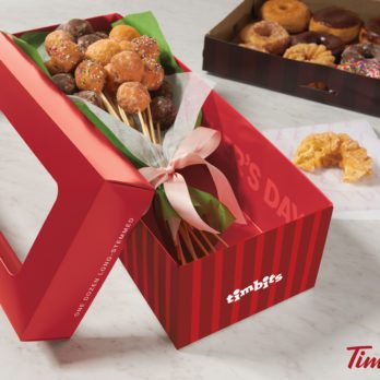 Make Mother's Day Sweeter with This Timbits Bouquet from Tim Hortons