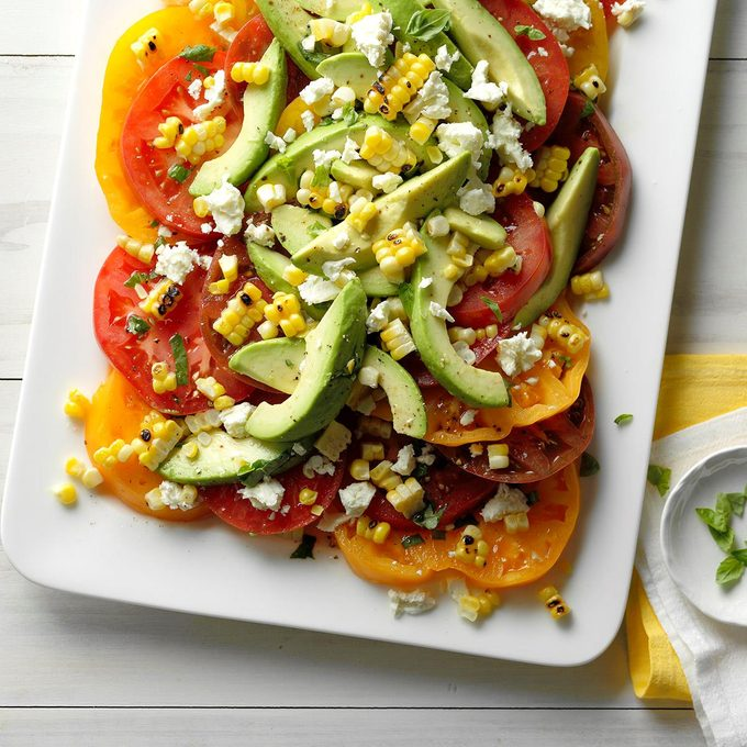 Tomato Avocado And Grilled Corn Salad Exps Thjj18 153635 C02 01 4b 3