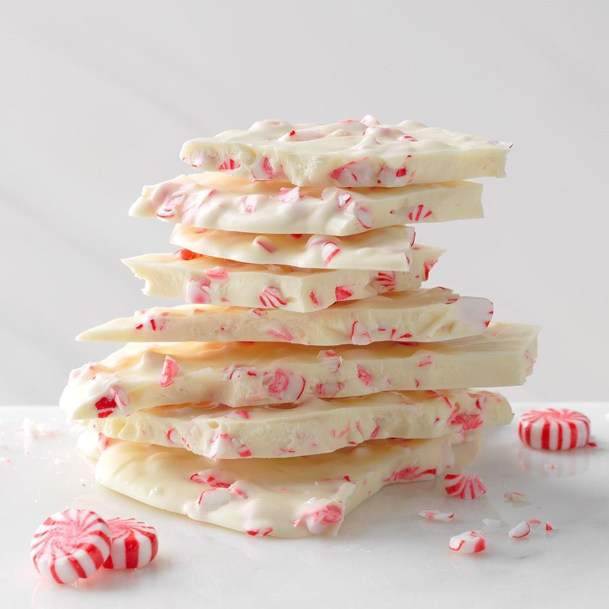 Chocolate Nonpareils White Dunmore Candy Kitchen: White Chocolate Peppermint Crunch Recipe