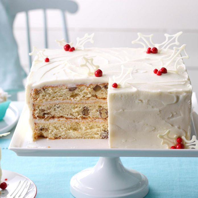 Three Day Coconut Cake Recipe