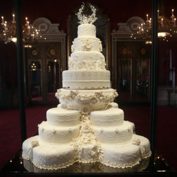 The Fascinating Reason Why British Royals Save The Top of Their Wedding Cake