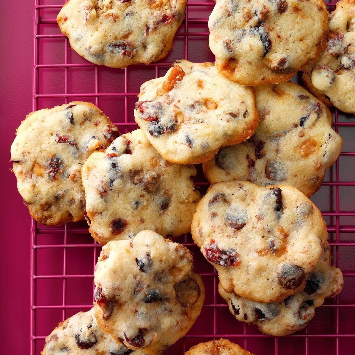 Winning Cranberry Chip Cookies Recipe