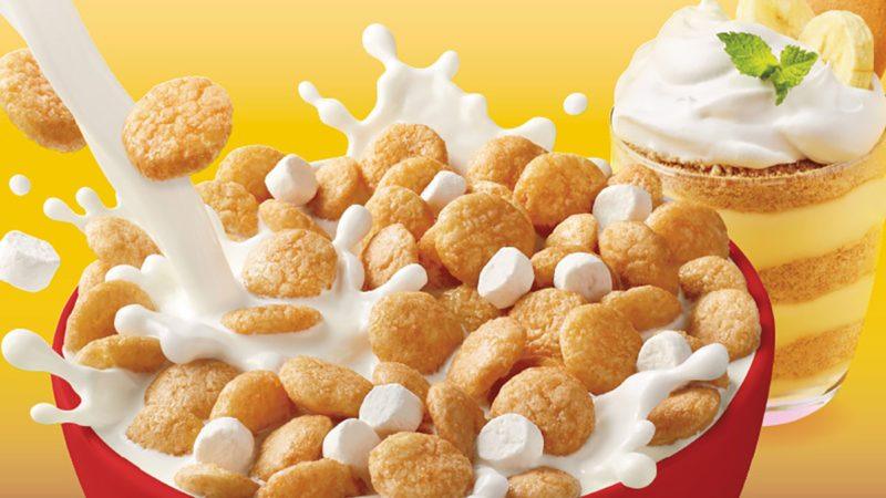 nilla wafers, cereal