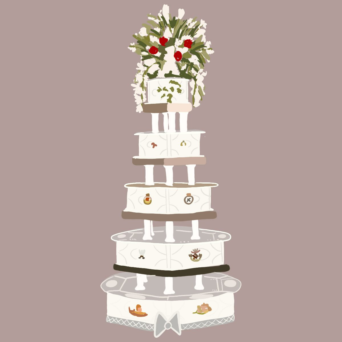 This Is What Royal Wedding Cakes Looked Like Over The Years