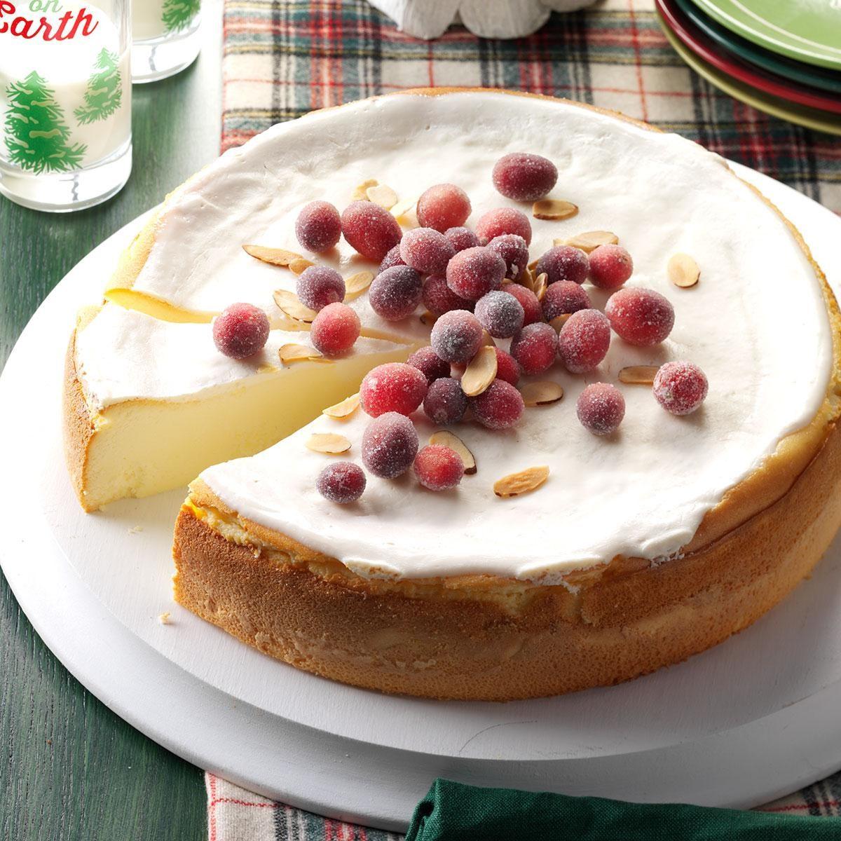 Amaretto Ricotta Cheesecake Recipe