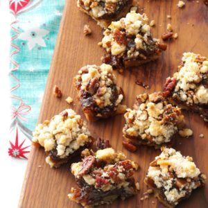 Mincemeat Cookie Bars