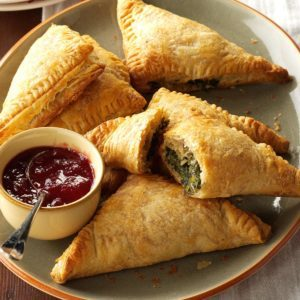 Spinach & Turkey Turnovers