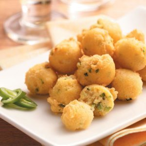 Peppery Hush Puppies
