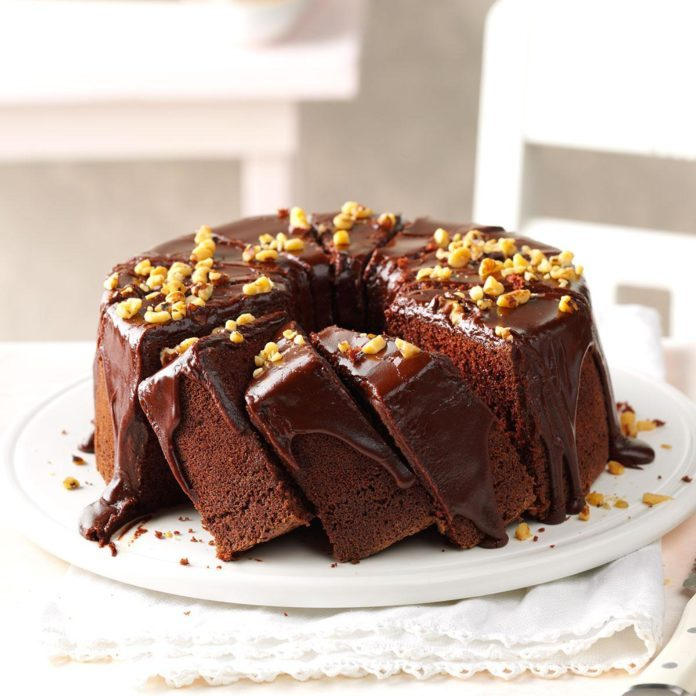 Chocolate Chiffon Cake Recipe Taste Of Home