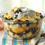 Peach & Blueberry Trifle