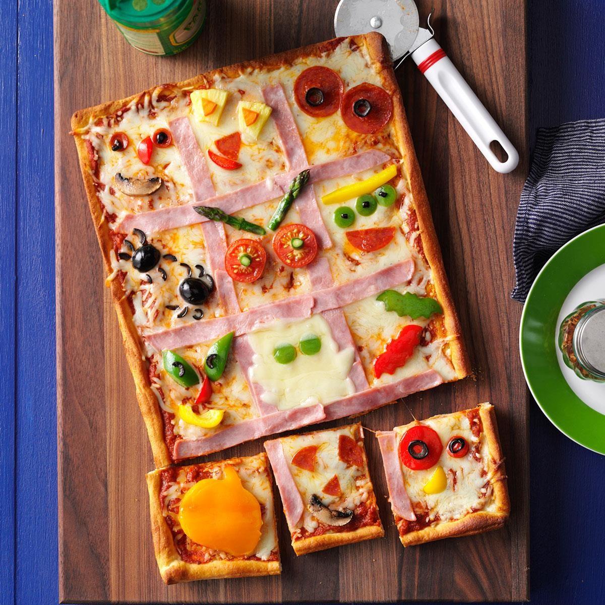Make A Monster Pizza Recipe Taste Of Home