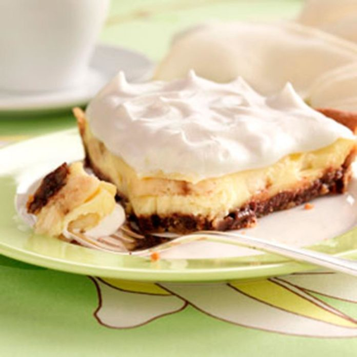 Chocolate Chip Banana Cream Pie