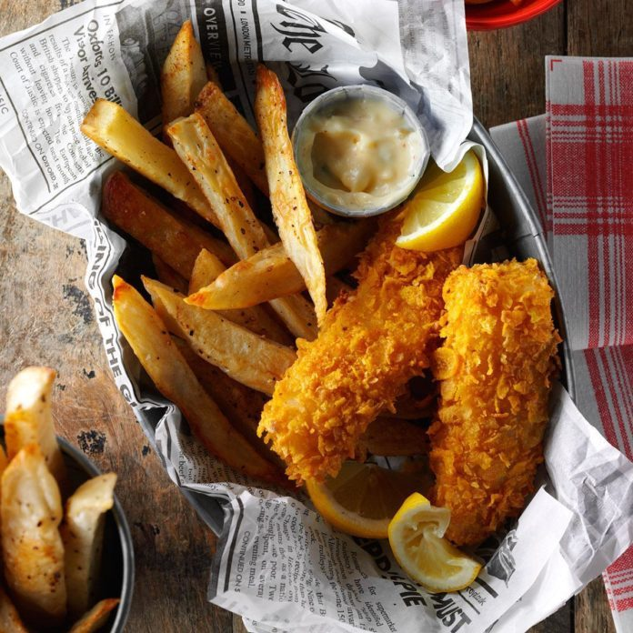 Inspired by: Long John Silver's Pacific Cod and Fries