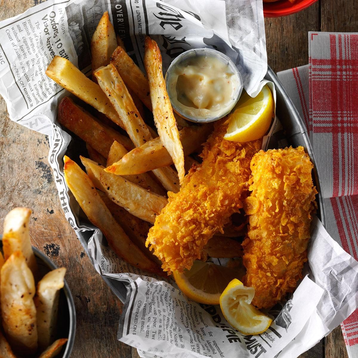 Air Fryer Fish And Fries Recipe