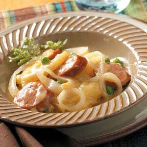 Potato Sausage Supper