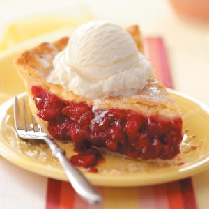 Favorite Fresh Raspberry Pie
