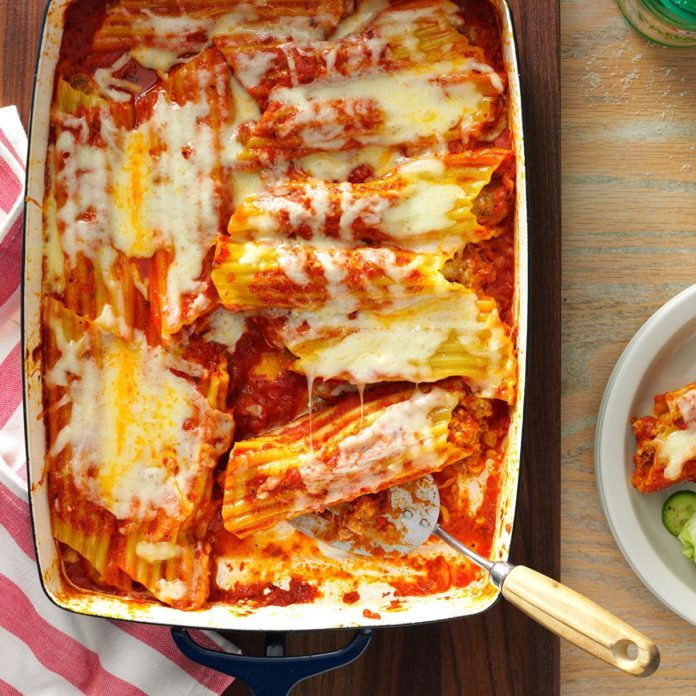 17 Manicotti Recipes Your Family Will Love
