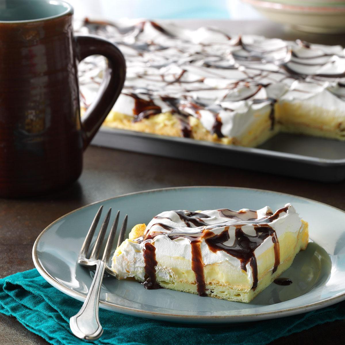 Vanilla Cream Puff Dessert Recipe