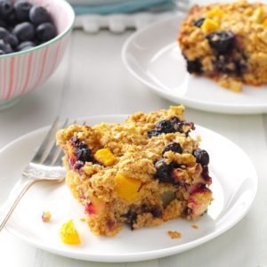 Fruity Baked Oatmeal