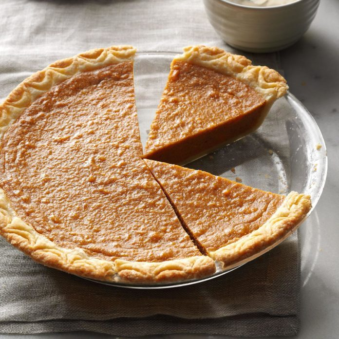 Harvest Sweet Potato Pie