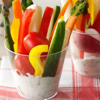 16 Cool, Creamy Veggie Dip Recipes