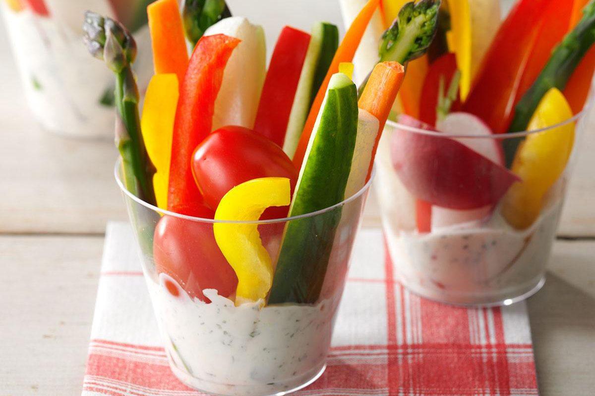 16 Cool, Creamy Veggie Dip Recipes