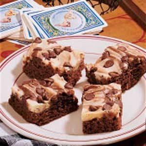 Marbled Chocolate Cheesecake Bars
