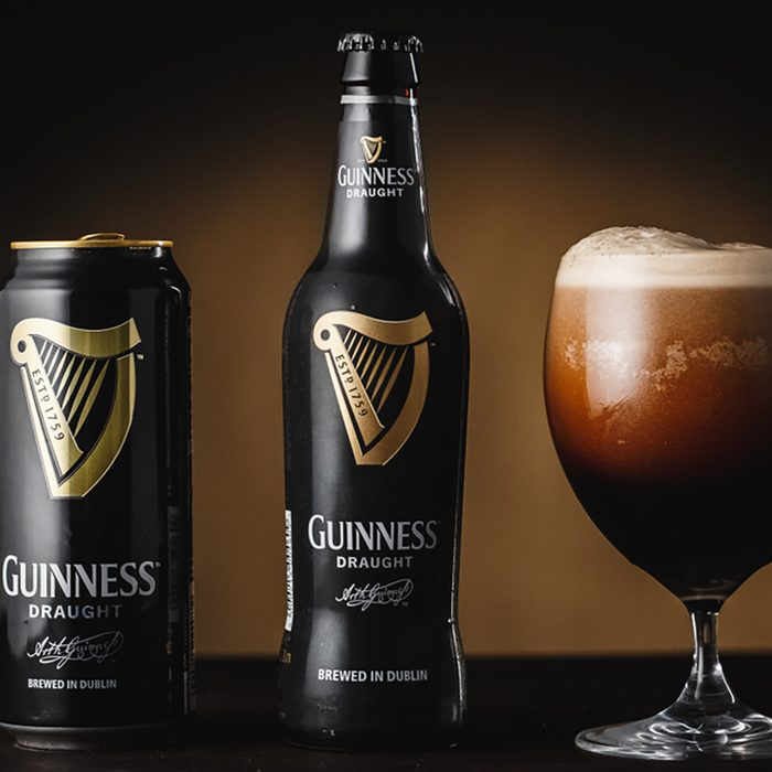 Gomel.Belarus - March 19.2018. Guinness is an Irish dry stout that originated in the brewery of Arthur Guinness