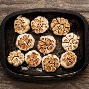 close up of rustic roasted garlic; Shutterstock ID 308832938; Job (TFH, TOH, RD, BNB, CWM, CM): TOH