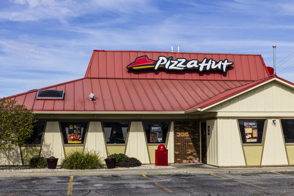 Pizza Hut Fast Casual Restaurant