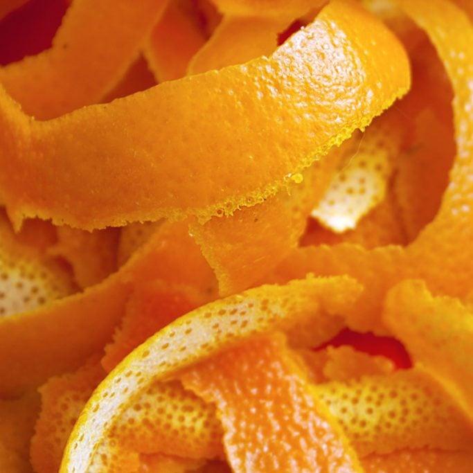 Background - orange peel strips; Shutterstock ID 522871264
