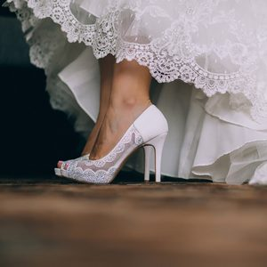 beautiful fashion wedding shoes