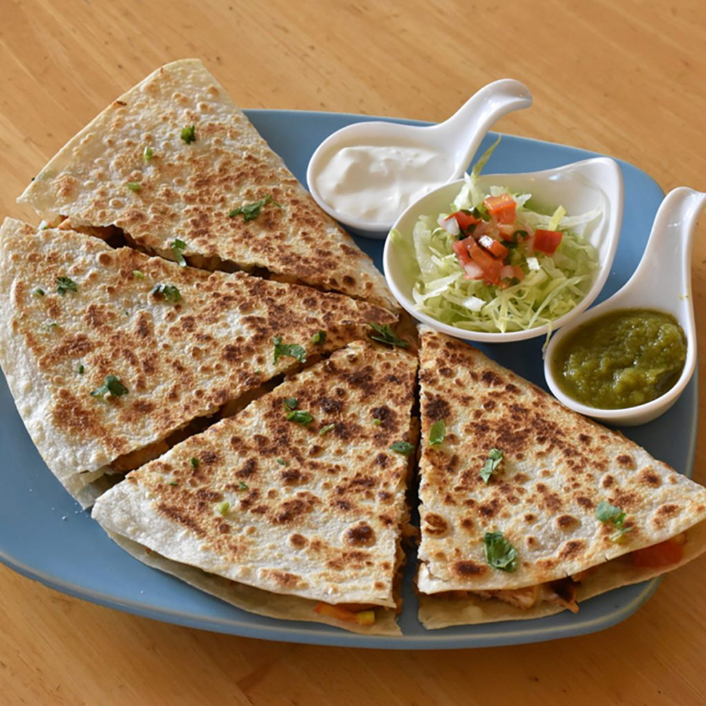 Quesadilla Mexican food