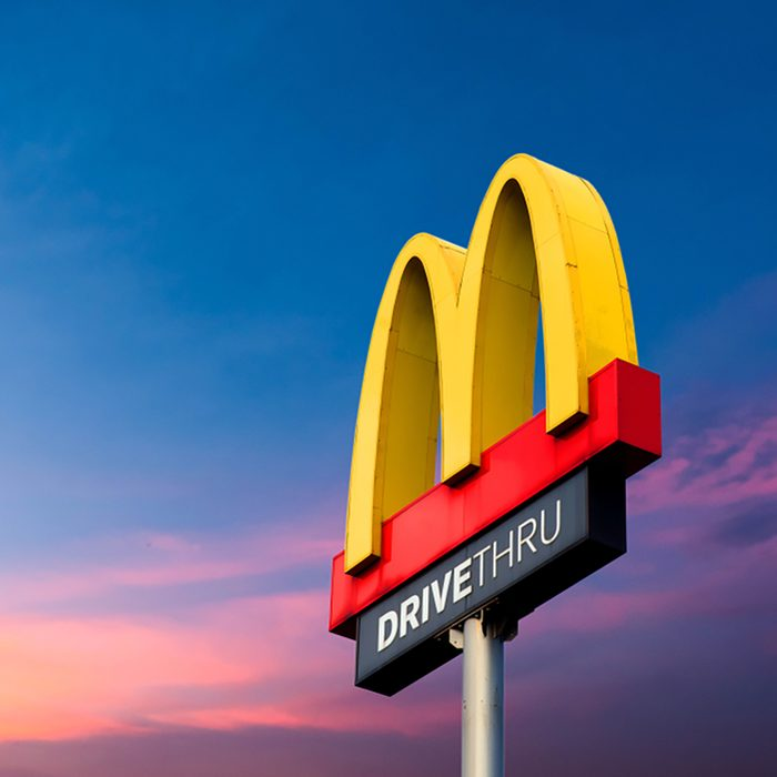 Nonthaburi, Bang Yai 29, there is a 2017 logo McDonald's. On the sky background Famous in Thailand; Shutterstock ID 773094754; Job (TFH, TOH, RD, BNB, CWM, CM): Taste of Home