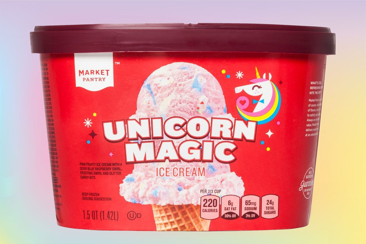 Unicorn Ice Cream Is Now A Thing At Target Taste Of Home